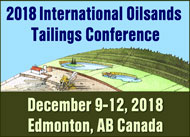 2018 International Oil Sands Tailings Conference