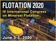 2020 Flotation • IV International Congress on Minerals Flotation