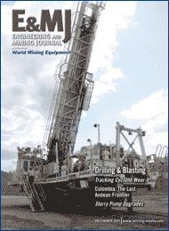 Sistema de Monitoreo de Ciclones Mejora la Operación en la Concentradora Copperton de KUC - E&MJ Decemeber 2011