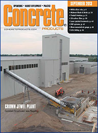 Concrete Products  - September 2013