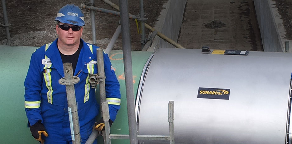 Largest Non-Contact Full-Bore Flowmeter in Oilsands