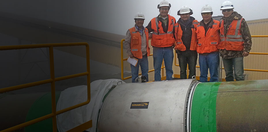 Largest SONARtrac Flow Meter Installed in Peru