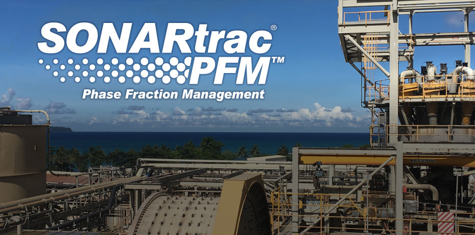 SONARtrac® Phase Fraction Management - Multi-Measurement Flow Technology