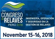 2018 Relaves • 3rd Congress Tailings Peru
