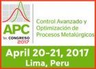 2017 El Congreso APC - Control Avanzado y Optimización de Procesos Metalúrgicos