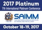 2017 • 7th International Platinum Conference