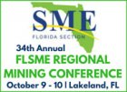 34th Annual FLSME Regional Mining Conference