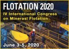2020 Flotation • IV International Congress on Minerals Flotation