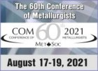 2021 COM - 60th Conference of Metallurgists